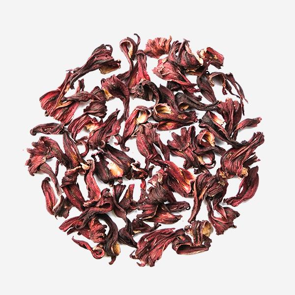 Hand picked and Natural Herbal Full Petal Hibiscus Tea Dry Petals