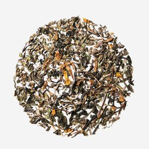 Double Mint Marigold hand picked loose leaf Natural Herbal premium green tea Leaf