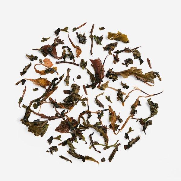 Double Mint Marigold hand picked loose leaf Natural Herbal premium green tea Infused Leaf