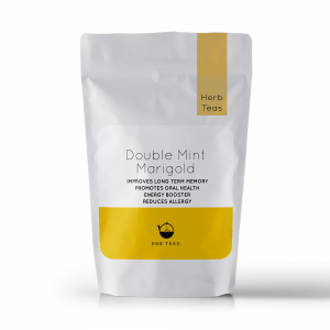 Double Mint Marigold hand picked loose leaf Natural Herbal premium green Tea pack