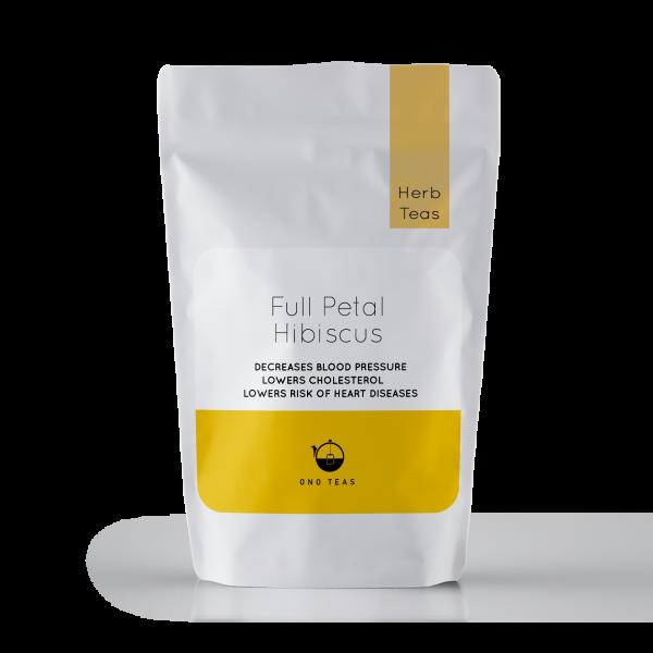 Hand picked and Natural Herbal Full Petal Hibiscus Tea Pack