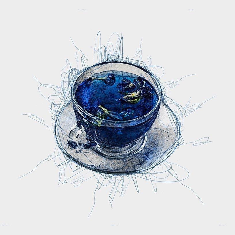 Butterfly Blue Pea Tea