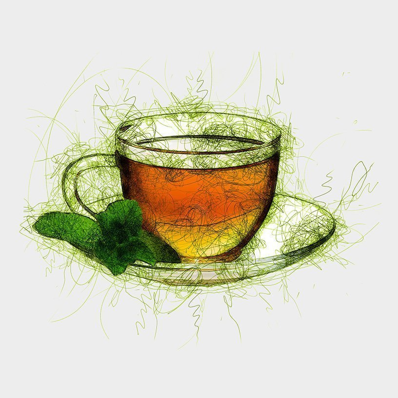 Classic Peppermint Tea