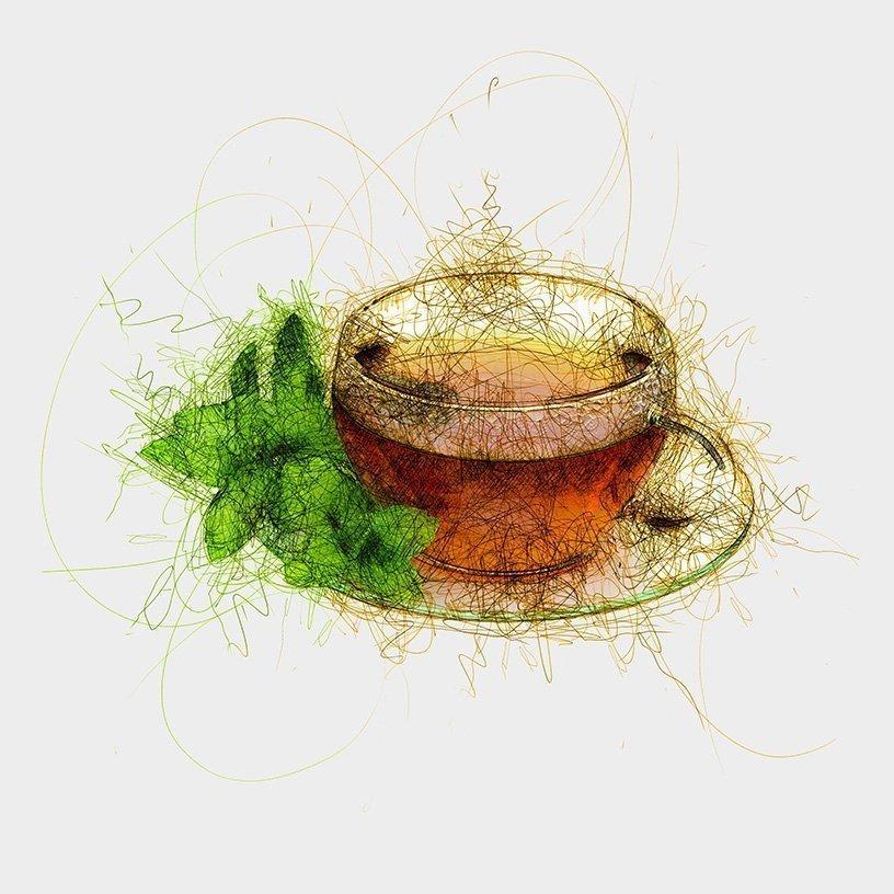Moringa Mint Tea