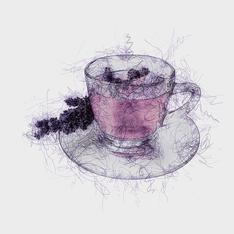White Lavender Tea