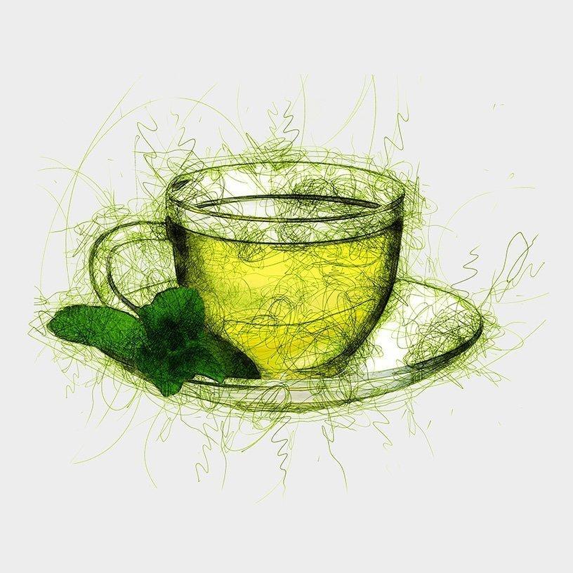 White Mint Tea