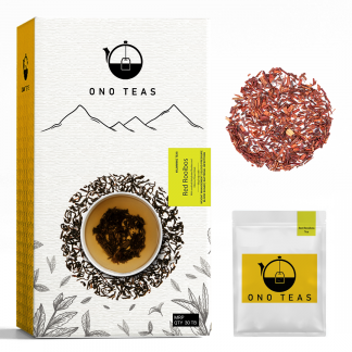 Red Rooibos Pack and teabag